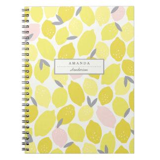 La limonada rosada por Origami imprime el cuaderno