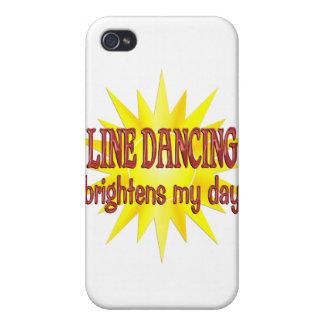 La línea baile aclara mi día iPhone 4/4S carcasas