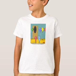 """La línea de aire"" embroma la camiseta"