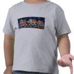 La línea de Conga del elefante embroma la camiseta