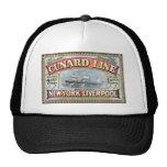 La línea de Cunard Gorras De Camionero