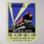 La línea de Juan Galt Poster
