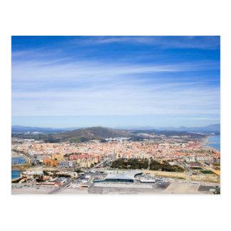 La Linea de la Concepcion in Spain Postcard