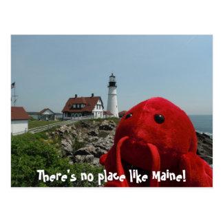La línea de Maine Postal