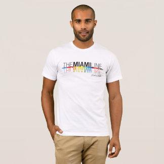 La línea de Miami, hombres de la camiseta de