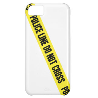 La línea de policía NO CRUZA Funda Para iPhone 5C
