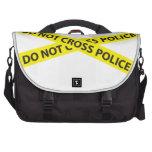 La LÍNEA de POLICÍA NO CRUZA la cinta Bolsas Para Ordenador