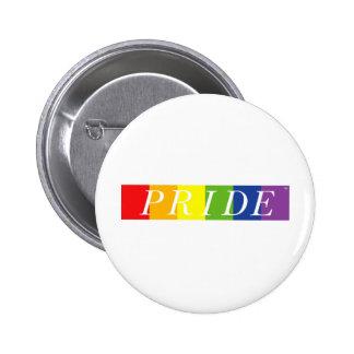 La línea del orgullo pin