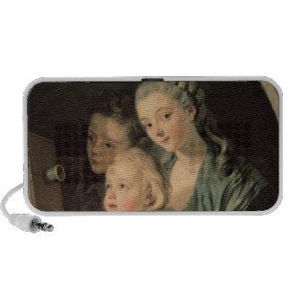 La linterna mágica, 1764 altavoces de viajar