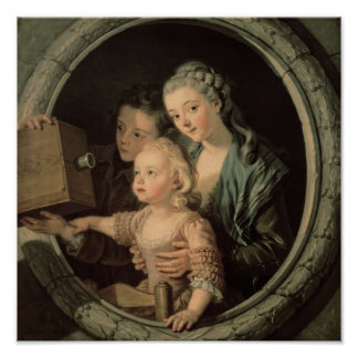 La linterna mágica, 1764 póster