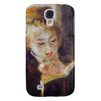 La Liseuse (el lector) - Pedro Auguste Renoir Carcasa Para Galaxy S4