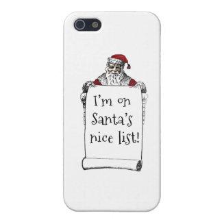 La lista de Santa Niza iPhone 5 Carcasa