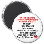 La lista Liberal-Progresiva oficial del golpe de l Iman De Frigorífico