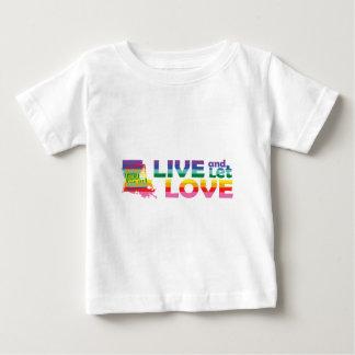 LA Live Let Love Baby T-Shirt