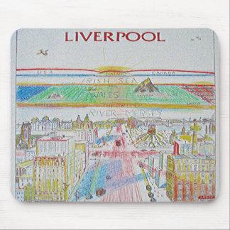 La Liverpool de la vida Mousepad de Colin Carr-Nal