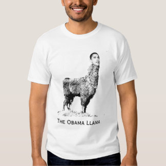 La llama de Obama Remera
