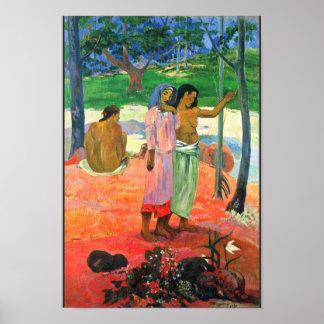 La llamada de Gauguin Paul (la mejor calidad) Poster