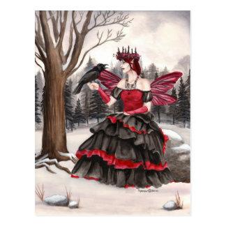 La llamada de la frialdad de los inviernos tarjetas postales