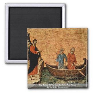 La llamada de los apóstoles Peter y Andrew Iman Para Frigorífico