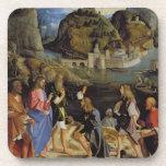 La llamada de los hijos de Zebedee (el panel) Posavasos
