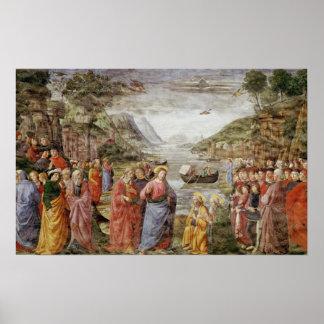 La llamada de los SS. Peter y Andrew, 1481 Poster