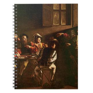 La llamada de St Matthew, c.1598-1601 Libro De Apuntes