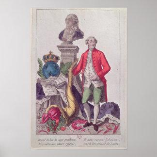 La llamada Jacques Necker del 16 de julio de 1789 Póster