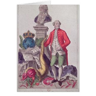 La llamada Jacques Necker del 16 de julio de 1789 Tarjeta De Felicitación