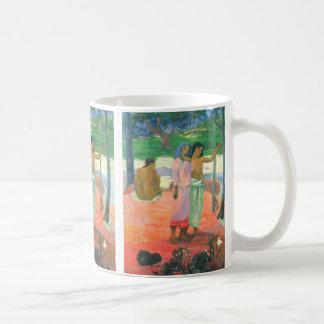 La llamada - Paul Gauguin Taza Clásica