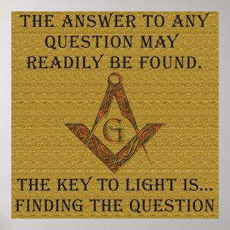 La llave a la luz póster