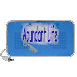 La llave a la vida abundante v2 (Juan 10: 10) iPhone Altavoces