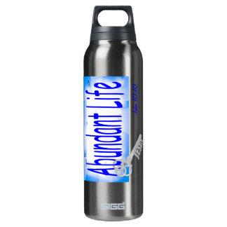 La llave a la vida abundante v2 (Juan 10: 10) Botella Isotérmica De Agua
