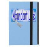 La llave a la vida abundante v2 (Juan 10: 10) iPad Mini Funda