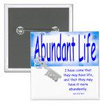 La llave a la vida abundante v2 (Juan 10: 10) Pin