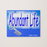 La llave a la vida abundante v2 (Juan 10: 10) Puzzles