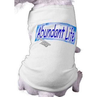 La llave a la vida abundante v2 Juan 10 10 Camiseta De Perrito