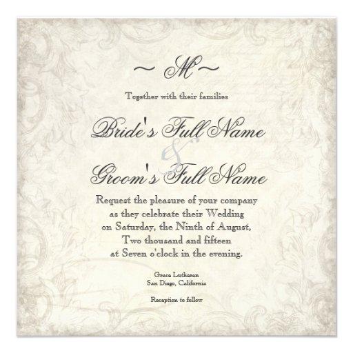 La llave a mi corazón, bodas del remolino de las p invitacion personal