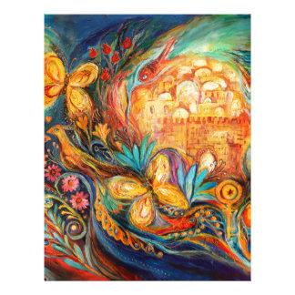 La llave de Jerusalén Membrete