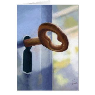 La llave / The Key. Card