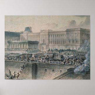 La llegada de Louis XVI delante de Impresiones
