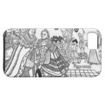 La llegada de su majestad Charles (1600-49) Princ iPhone 5 Fundas