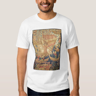 La llegada de Vasco de Gama en Calicut Poleras