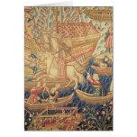 La llegada de Vasco de Gama en Calicut Tarjeta De Felicitación
