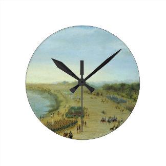 La llegada del ejército aliado en Itapiru, Paragua Relojes