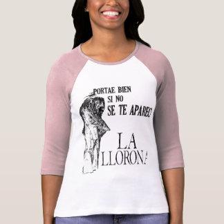 La Llorona Spanish Raglan T-Shirt