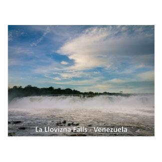 La Llovizna Falls - Venezuela Postcard
