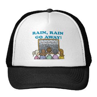 La lluvia de la lluvia sale gorros bordados