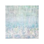 La lluvia de la tolerancia del iris cae el abrigo  impresiones en lona