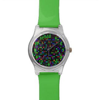 """La """"lluvia de meteoritos colorida"""" ajusta el reloj"""