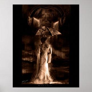 La lluvia en mi alma póster